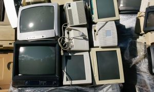 old-crt-monitors-tv-television-recycling