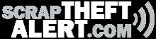 Scrap Theft Alert white logo